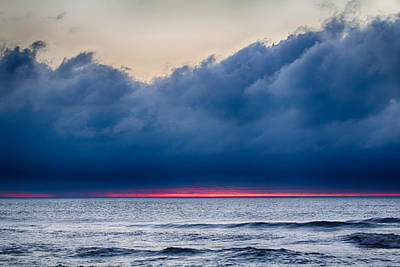 Photograph - Sunrise Behind The Clouds by Leah Palmer