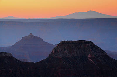 Deva Photograph - Sunrise, Bright Angel Point, North Rim by Michel Hersen