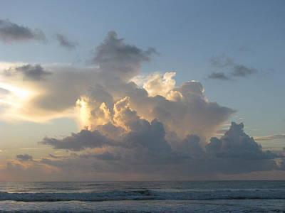 Photograph - Sunrise Cloud Shapes by Ellen Meakin