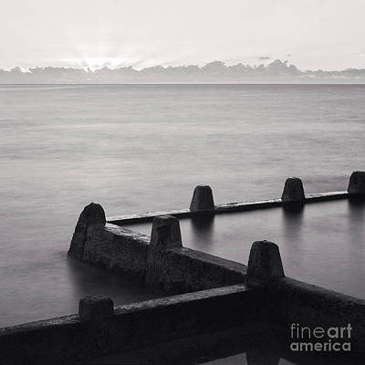 Photograph - Sunrise Coogee Baths Sydney by Colin and Linda McKie