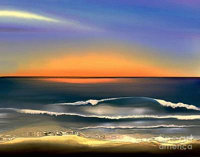 Sunrise Art Print by Dale   Ford