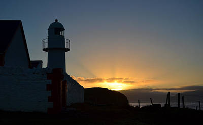 Photograph - Sunrise Dingle Lighthouse by Barbara Walsh