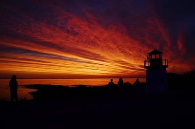 Photograph - Sunrise Display by Joy Bradley