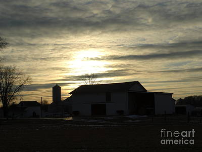 Photograph - Sunrise Farm by Scott B Bennett