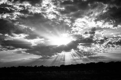 Photograph - Sunrise Flare by Ben Shields