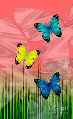 Digital Art - Sunrise Flight by Kristi Kruse