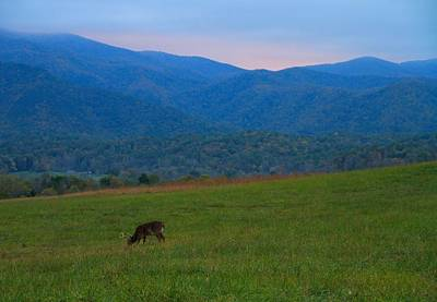 Old Village Photograph - Sunrise From Cades Cove In The Smokies by Dan Sproul