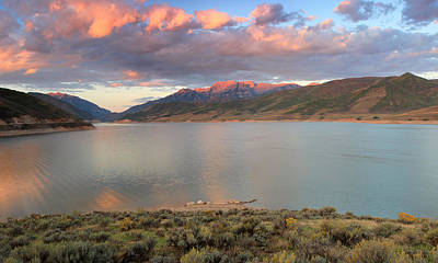 Photograph - Sunrise From The Island At Deer Creek. by Johnny Adolphson