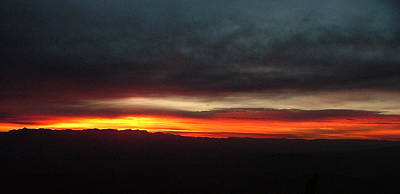 Photograph - Sunrise From The Rim by Philip Rispin
