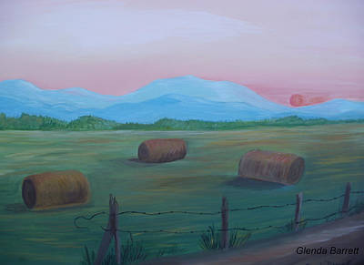 Sunrise Art Print by Glenda Barrett