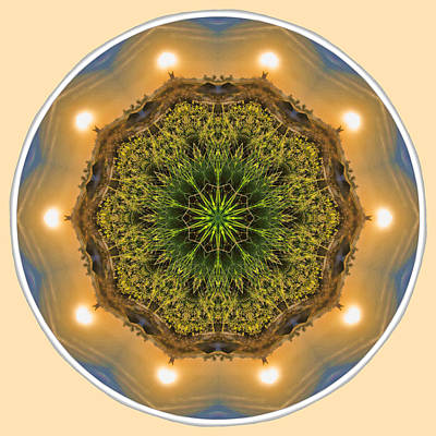 Photograph - Sunrise Glow Mandala by Beth Sawickie