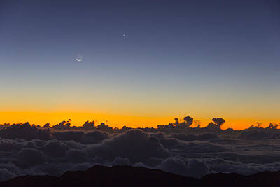Sunrise Haleakala Volcano Art Print by Norman Blume