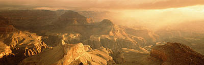 Sunrise Hopi Point Grand Canyon Print by Panoramic Images