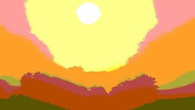 Sunrise Hue Art Print