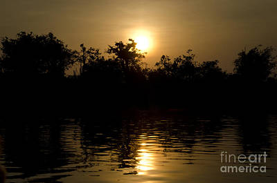 Photograph - Sunrise In Amazon by Ricardo Lisboa