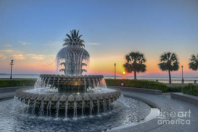 Photograph - Sunrise In Charleston by Dale Powell