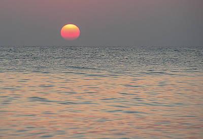 Sunrise In Crete Art Print by Sergey Simanovsky