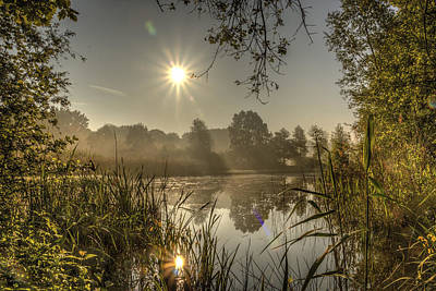 Sunrise In De Doort Art Print by Marc Crutzen