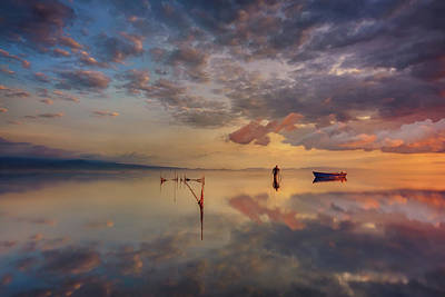 Spain Wall Art - Photograph - Sunrise In Delta Del Ebre by Joanaduenas