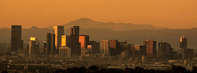 Photograph - Sunrise In Denver by Colleen Coccia