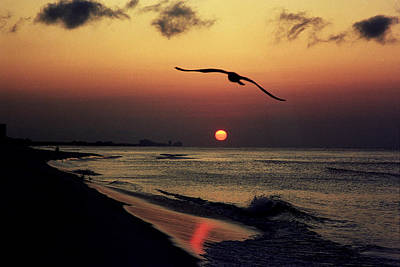 Photograph - Sunrise In Destin by Lawrence Scott