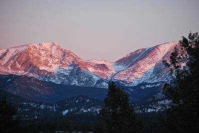 Photograph - Sunrise In Estes Park by Amee Cave