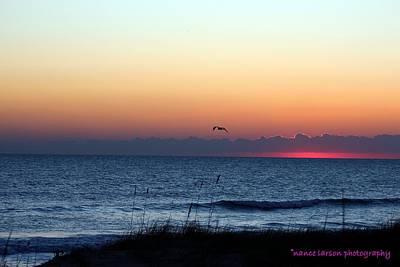 Sunrise In Florida Art Print