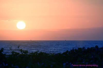 Photograph - Sunrise In Ft. Pierce by Nance Larson