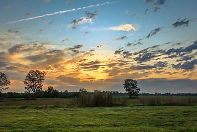 Sunrise In Ft Smith Art Print