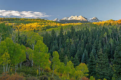 Photograph - Sunrise In Golden Colorado On A Fall Day by Willie Harper