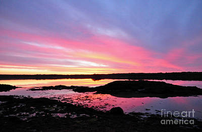 Photograph - Sunrise In Maine by Glenn Gordon