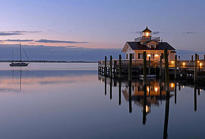 Sunrise In Manteo Art Print