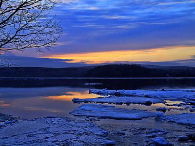 Sunrise In New Brunswick Art Print
