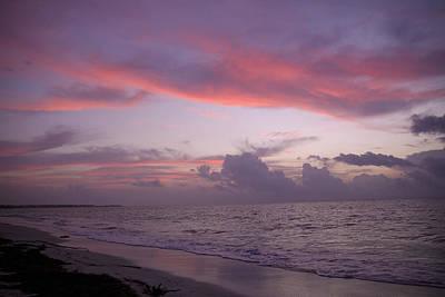 Sunrise In Riviera Maya Art Print by Dave Dos Santos