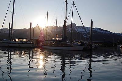 Sunrise In Seward Original