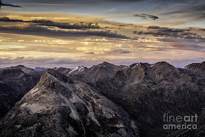 St. Timothy Photograph - Sunrise In The Alps by Timothy Hacker