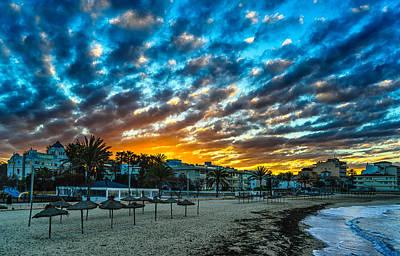 Sunrise In The Beach Art Print by Maksims Novikovs