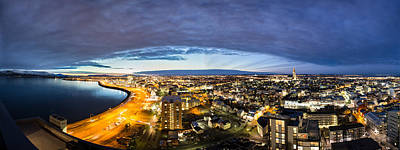 Photograph - Sunrise In The City by Sigurdur William Brynjarsson