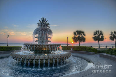 Photograph - Sunrise In The Lowcountry by Dale Powell