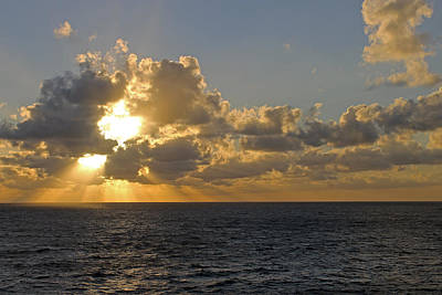 Photograph - Sunrise In The Med. by Tony Murtagh