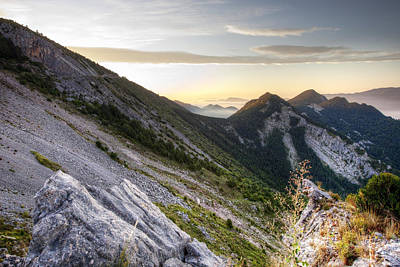Landscapes Photograph - Sunrise In The Pyrenean Catalonia by Marc Garrido