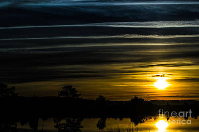 Photograph - Sunrise In Virginia by Angela DeFrias