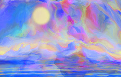 Painter Digital Art - Sunrise by Jack Zulli