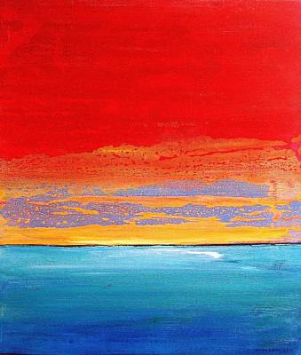 Painting - Sunrise 2012 by Karl Leonhardtsberger