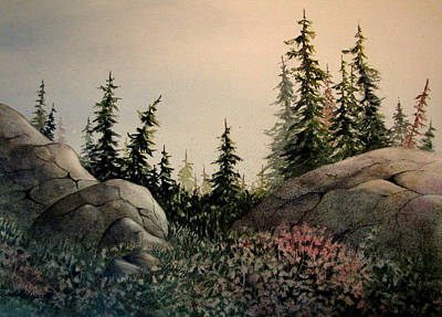 Wall Art - Painting - Sunrise by Linda McCallum