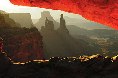 Sunrise, Mesa Arch, Canyonlands Art Print by Michel Hersen