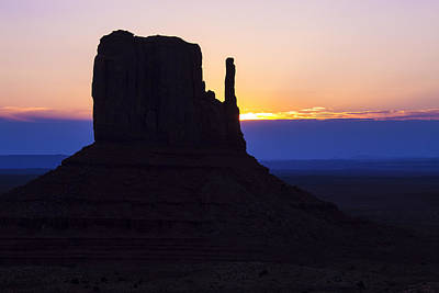 Photograph - Sunrise Monument Valley by Garry Gay
