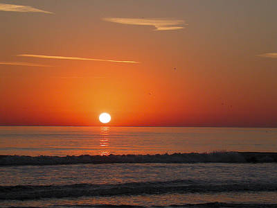 Painting - Sunrise Neptune Beach Fl by Pablo Rivera