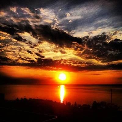 Duluth Digital Art - Sunrise Of Fire by Sheri Nelson