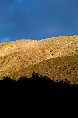 Ojai Wall Art - Photograph - Sunrise On A Peak With A Dusting by Venture Media Group